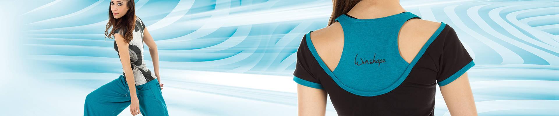 Dancehose WTE3 / Kurzarmshirt WPTR4 / Cut-Out-Shirt WTR5