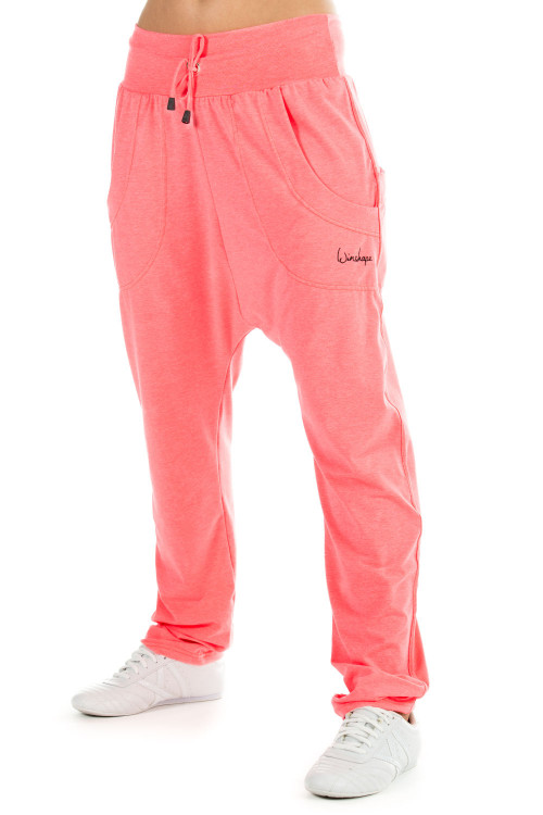UNISEX 4Pocket Pants WH13, neon coral