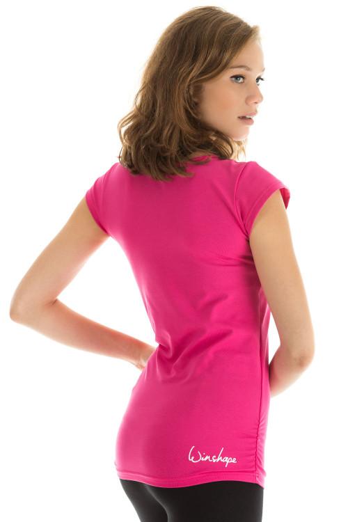 Kurzarmshirt WTR4, pink