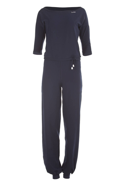 3/4-Arm-Jumpsuit WJS2, night blue