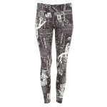 Functional Long Tights WPL1, Newspaper
