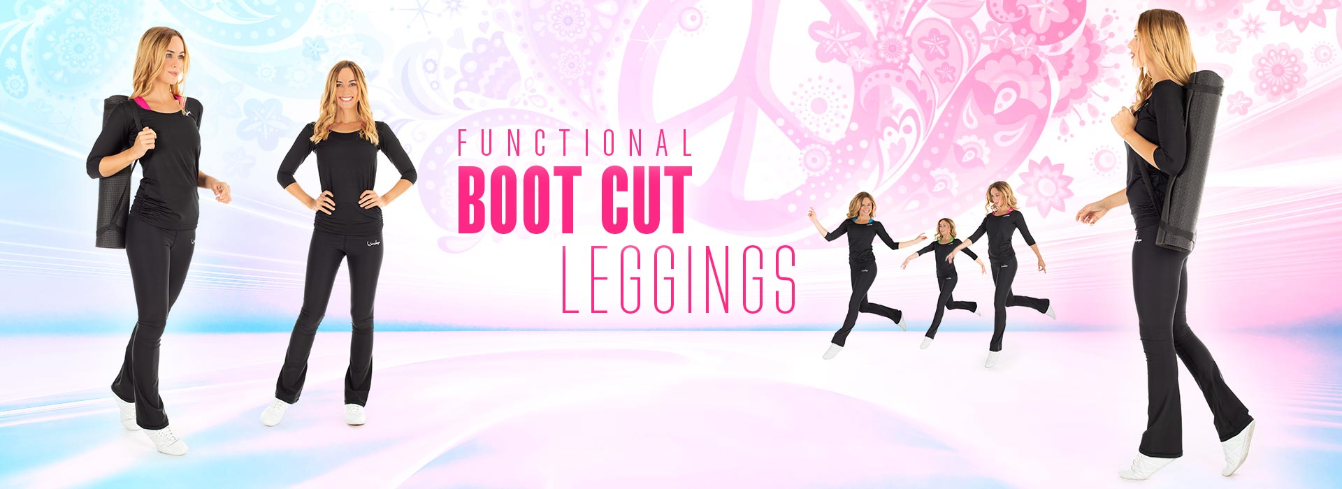 Functional Boot Cut Leggings!