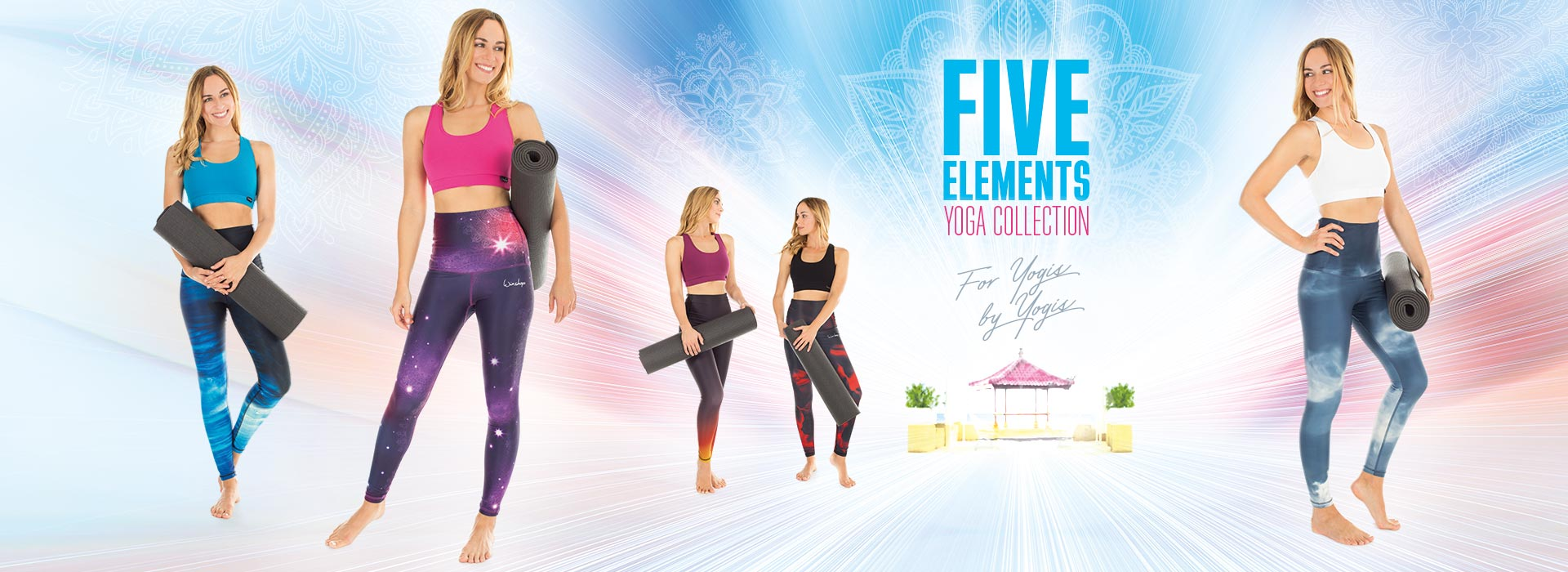 """Five Elements Yoga Collection!"""