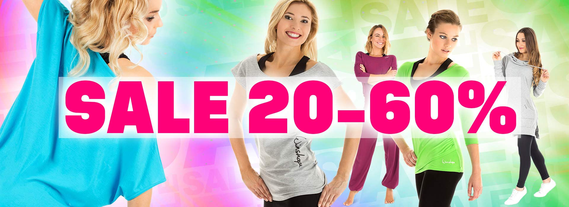 Girls just wanna have SALE! Bis 60% sparen!