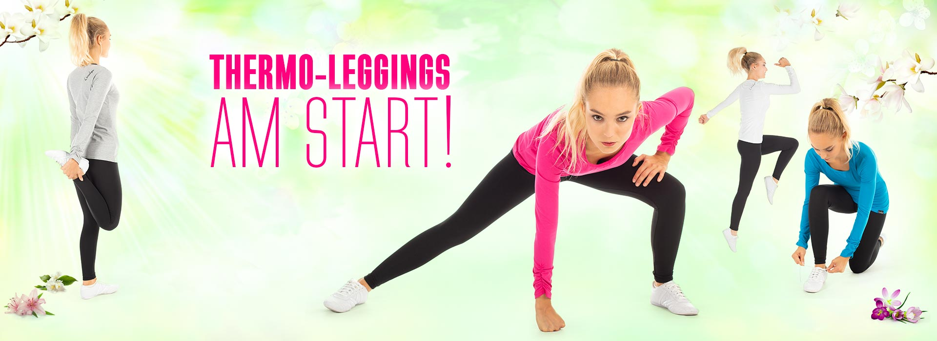 Nie wieder kalt! Thermo-Leggings am Start! SPRING DE