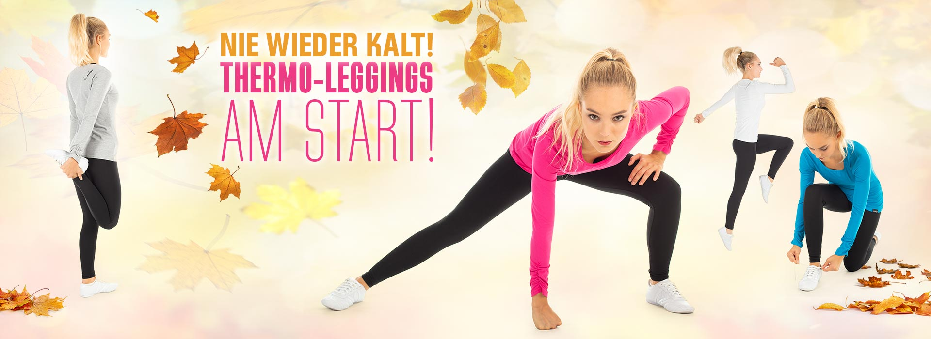 Nie wieder kalt! Thermo-Leggings am Start!