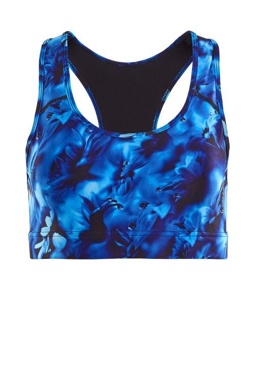 Functional Sport-BH SB101, blue rainflowers