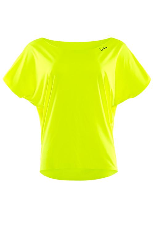 Super leichtes Functional Dance-Top DT101, neon gelb