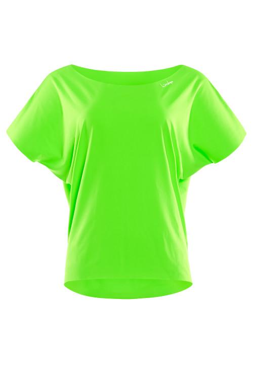 Super leichtes Functional Dance-Top DT101, neon grün