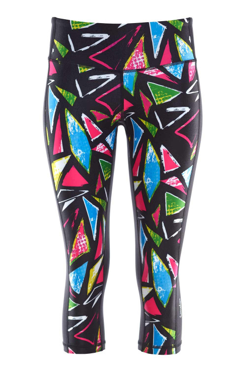 Functional Power Shape 3/4-Tights AEL210, disco