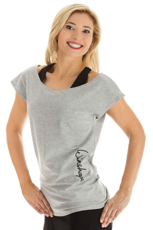 Dance-Shirt WTR12, grey melange