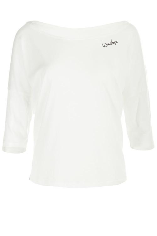 Ultra leichtes Modal-3/4-Arm Shirt MCS001, vanilla-weiß