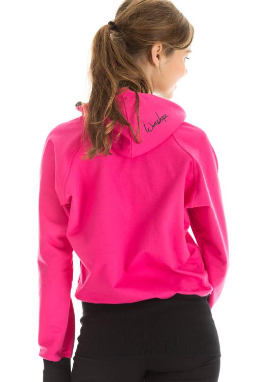 Hoodiejacke WBU7, pink