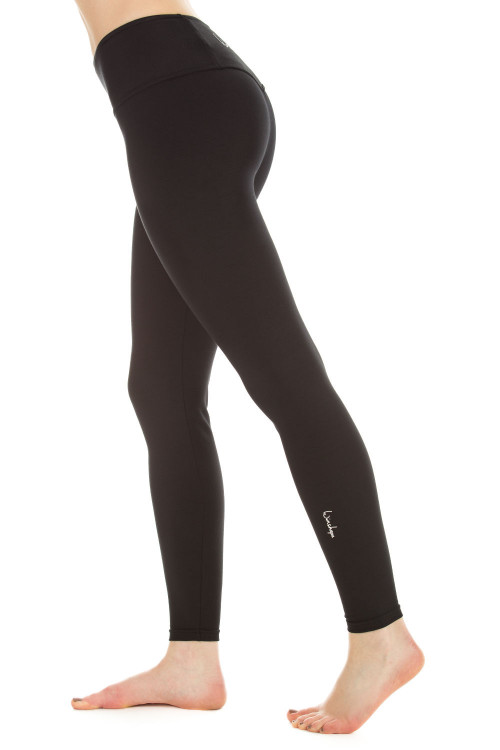 Long Slim Tights WTL1, schwarz