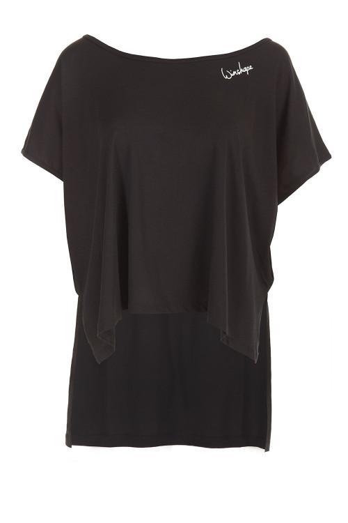 Ultra leichtes Modal-Shirt MCT010, schwarz