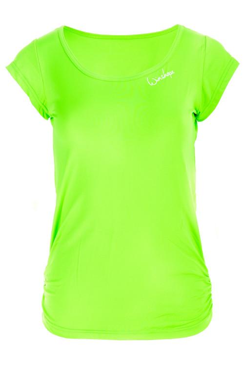 Super leichtes Functional Kurzarmshirt AET106, neon grün