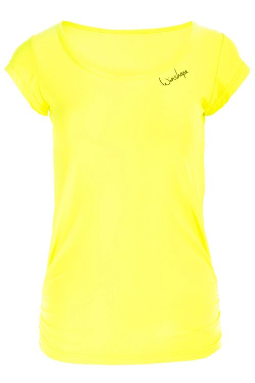 Super leichtes Functional Kurzarmshirt AET106, neon gelb