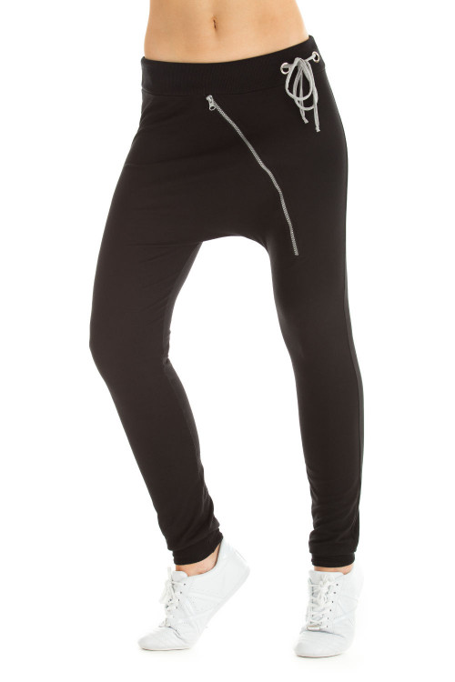 UNISEX Zipperhose WH4, schwarz