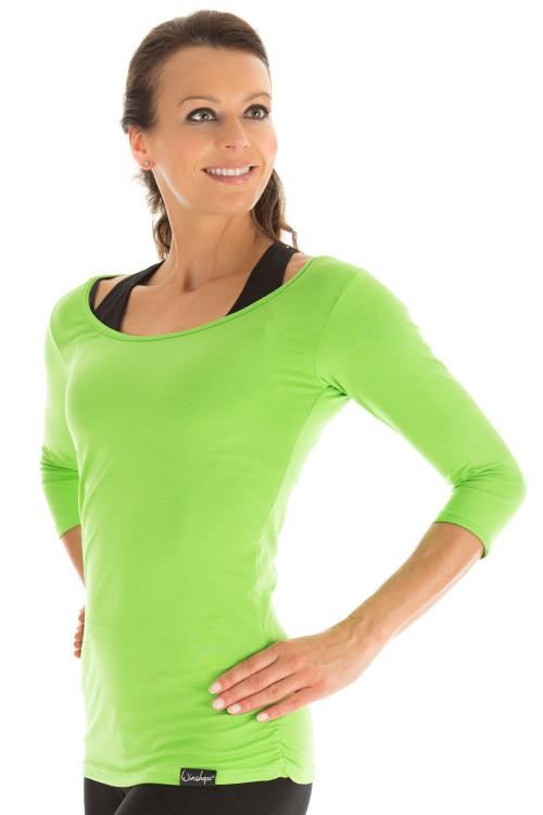3/4-Arm Shirt WS4, apfelgrün