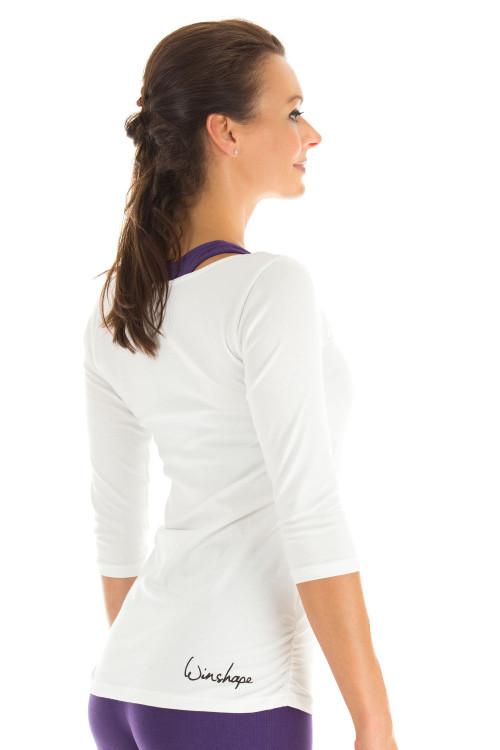3/4-Arm Shirt WS4, weiß