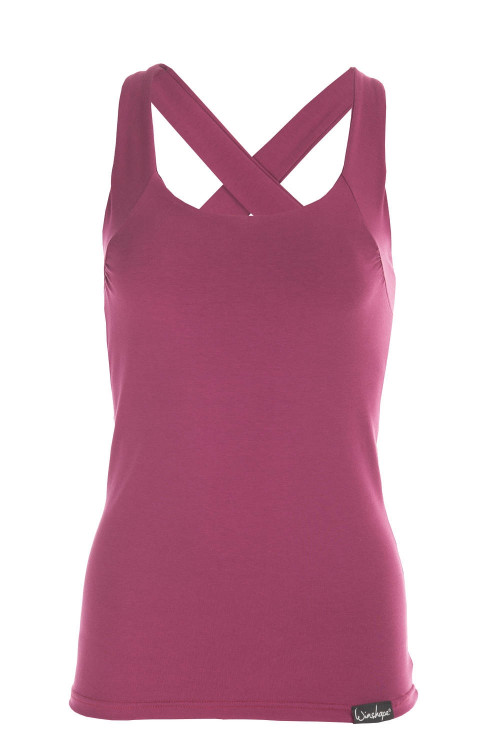 Cross Back Top WVR25, berry love