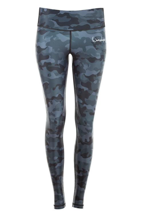 Functional Power Shape Tights AEL102, camo grey