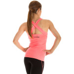 Cross Back Top WVR25, neon coral