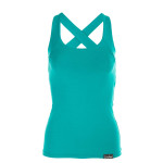 Cross Back Top WVR25, ocean green