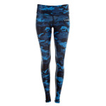 Functional Power Shape Tights AEL102, camo blue