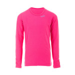 Girls-Longsleeve mit dezenter Raffung WKS1, pink