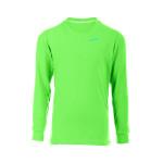 Boys&Girls-Longsleeve mit praktischen Manschetten WKS2, apfelgrün