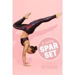 Sparset Sport-BH + Leggings, red gerbera, 2-teilig